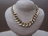 Vintage 1980s Gold Tone MONET Necklace